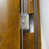 Modèle en acier de porte de photos en métal