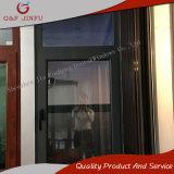 Ventana de aluminio del marco del perfil gris para comercial y residencial