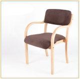 Présidence dinante en bois moderne pour des meubles de café de restaurant