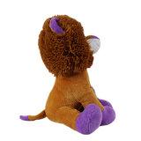 새로운 인형 견면 벨벳 박제 동물 사자 연약한 장난감