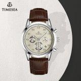 Horloge van de Chronograaf van het Roestvrij staal van de Sport Mens van de douane het Waterdichte voor Gift 72885