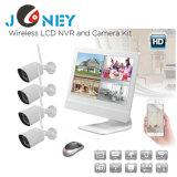 O novo canal 4 Kit de NVR HD 960p Bullet IP Camera Wireless sistema CCTV