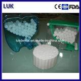 Roulis de coton dentaire blanchi Chlore-Libre d'ouate d'absorbant de 100% (8 x 38mm)
