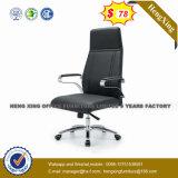 Высокие кожаные Конференции Председатель металлическое основание Vistor стул (HX-LC001C)