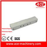Алюминиевая часть CNC шкива пояса подвергая механической обработке