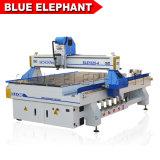 1300*2500mm tipos de talla de madera, Máquina Router CNC 4 ejes, Router CNC máquina de grabado de madera para la venta