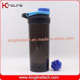 botella de la coctelera de la proteína 800ml con el mezclador plástico (KL-7041)