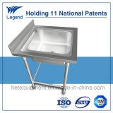 Freestanding Type van Gootsteen van de Was van de Hand van het roestvrij staal