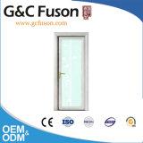 白い木製カラーアルミニウム洗面所のドア