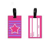 Qualität Belüftung-Gummigepäck-Marken, kundenspezifische Silikon-Arbeitsweg-Namen-Fall-Gepäck-Marke für Förderung