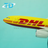 A300-600 DHL 27cm Van de Bedrijfs vliegtuigen van de Hars ModelGift