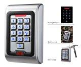 Controle de acesso impermeável do cartão da tensão MIFARE de IP68 9-16V