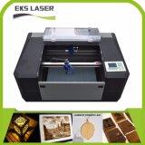 máquina de grabado del laser del CO2 35W 5030 para la tarjeta de acrílico/de madera