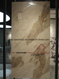 Azulejo de suelo grande del mármol del azulejo de la porcelana del material de construcción de la talla