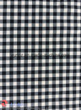 Nylon-Polyester-Check-Jacquardwebstuhlspandex-Ausdehnungs-Gewebe für Kleid