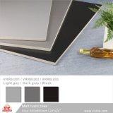 Black China Foshan materiales de construcción de estilo rústico piso de porcelana de color puro mosaico de la pared (VRR6I203, 600x600mm, 300x600mm/24''x24''; 12''x24'')