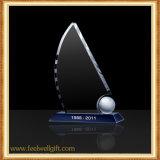 Trofeo de Cristal fino personalizado