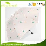 Paraplu van de Paraplu van de douane de Promotie Goedkoopste Witte met Druk