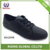 2018 мода мужчины обувь комфорт PU повседневная обувь из натуральной кожи