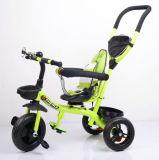 La nueva llegada 4 en 1 triciclo de niños embroma el triciclo de Trike del bebé