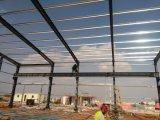 Lager-Werkstatt projektiert helle Stahlkonstruktion-vorfabriziertfabrik