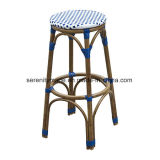 De Franse Stoel van de Barkrukken van de Keuken van de Rotan van Bistro van het Bamboe Hoge