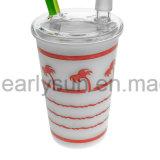 Kokosnuss-Baum-Cup-Ölplattform-Huka-Glaswasser-Rohr (ES-GB-006)