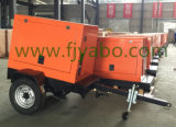Industrieller kleiner Portable drücken elektrischer mobiler Generator-Vehicle-Mounted hellen Aufsatz von Hand ein