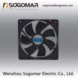 4 дюймов низкий уровень шума вентилятора с 2-Leadwire типа 12В пост. тока