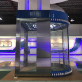 elevatore facente un giro turistico dell'elevatore di vetro panoramico 630kg con il certificato del Ce