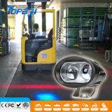 10W blaues LED Arbeits-Licht-Sicherheits-Punkt-Gabelstapler-Licht