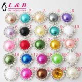 Образный пластиковый Pearl круглой кнопки