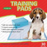 저희 Fluff 펄프 젤 Teconology를 가진 처분할 수 있는 작풍 애완 동물 훈련 패드