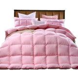 Casa confortável cama de hotel 100% algodão tampa para baixo enchimento de Retalhos