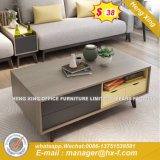 금속 다리 유리제 현대 가정 가구 탁자 (HX-8ND9203)