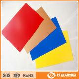 カラー上塗を施してあるアルミニウム版(PE PVDF)