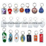 Kundenspezifisches förderndes Metallleder Keychain