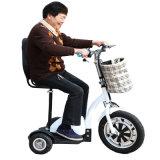 Vespa eléctrica de equilibrio de la movilidad de la tarjeta de la libración del uno mismo elegante de la rueda de la manera 3