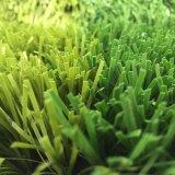 Futebol artificial do Não-Infill que joga as fábricas artificiais à terra do relvado da grama