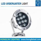 9W LED Wasser-Unterwasserlampe für Swimmingpool