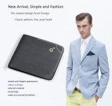 Мода мужчин Wallet мини натуральная кожа карман для мелочи кошельки
