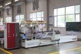Tagliatrice capa di CNC di profilo di alluminio del PVC del portello della finestra doppia
