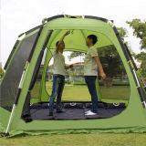 De Openlucht Dubbele Dubbele Tent van uitstekende kwaliteit van het Strand van de Staaf van het Aluminium