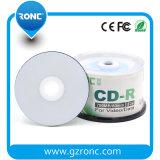 dello spazio in bianco a un solo strato della fabbrica del pacchetto 50PCS CDR stampabili 700MB 1-52X