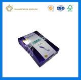 Custom напечатано особую форму упаковки бумаги для косметики