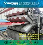 La tuile de toit de bambou composite en plastique Making Machine/ PVC tuiles de bambou Making Machine/ Vinyle bambou Feuille de toit Making Machine