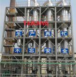 Efecto multi- evaporador de la planta de evaporación de aguas residuales, el procesamiento de alimentos, productos químicos