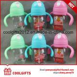 Sur mesure Composante personnalisée Kids colorés Sippy l'eau potable bouteille en plastique