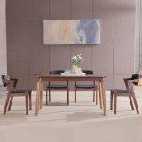 Conjunto de muebles de comedor moderno restaurante de la tabla de madera muebles para el hogar
