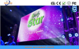 Écran LED de vidéo de concert P3 à l'intérieur avec affichage LED 576x576mm Cabinet épissage transparente